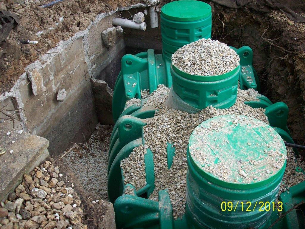 Installing new septic Tank